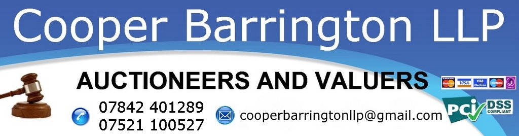 Cooper Barrington Auctioneers, Antiques Auctions Liverpool, Chester, Shrewsbury, Colwyn Bay, Llandudno
