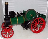 Lot 138: Minnie 1 inch Traction Engine possibly by L C Mason. Excellent condition. Length 18 inches.