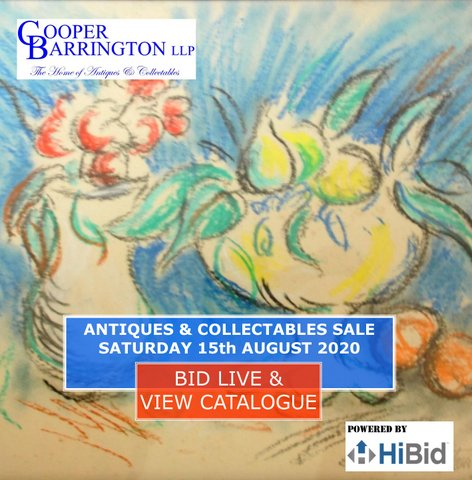 Cooper Barrington August Antiques and Collectables Sale Catalogue