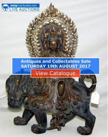 Antiques and Collectables Sale - Sat. 19th August 2017