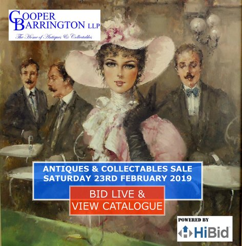 Cooper Barrington LLP Antiques and Collectables Auction
